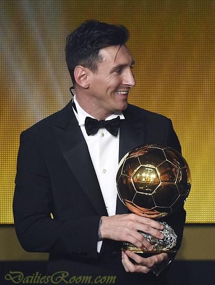 2015 FIFA World Best Player Award Winner - 2015/2106 FIFA Ballon d'Or Night Winners