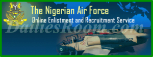 Nigerian Air Force Recruitment Exercise For Airmen/Airwomen Begins Today