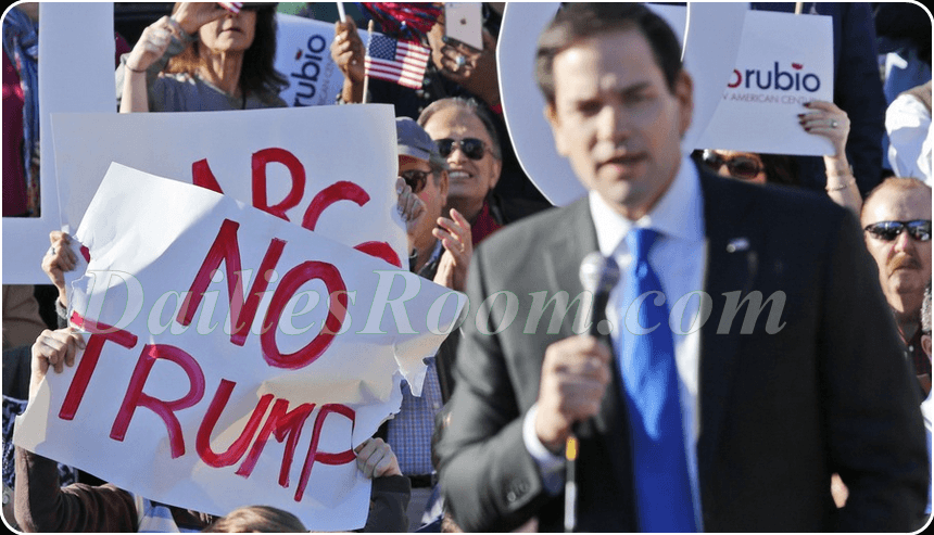 Marco Rubio Drops Out On Presidential Race For 2016