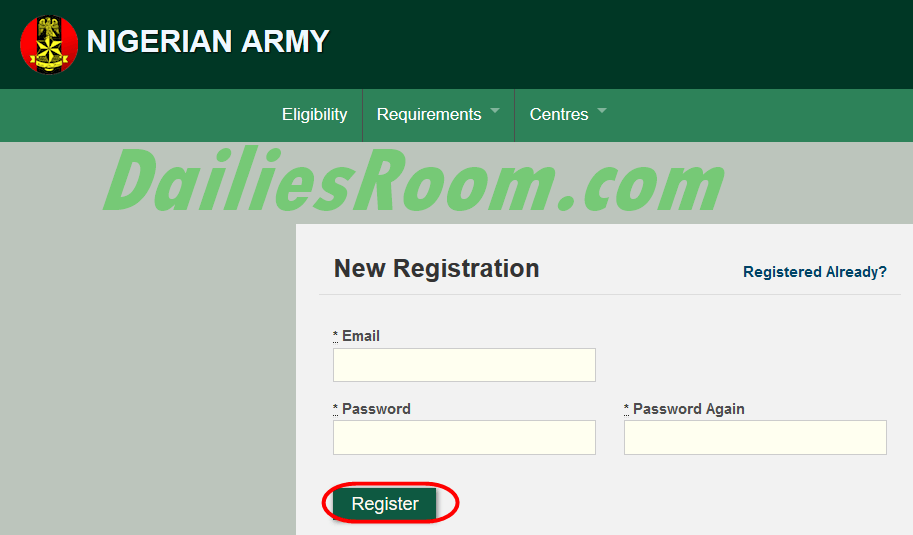 2016 Nigerian Army Job Recruitment