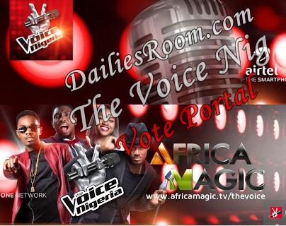 The Voice Nigeria Voting Portal - How To Vote The Voice Nig Favorite Contestants