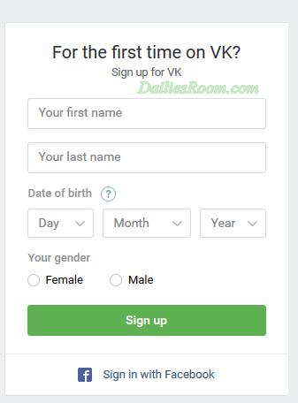 www.vk.com Registration Without Phone Vk Sign Up, Vk.com login, VK App Download