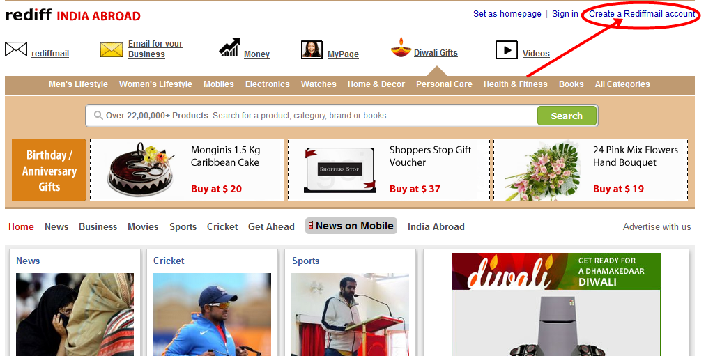 www.rediffmail.com create new account | Rediffmail Signup | Rediffmail login