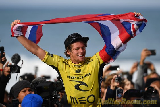 John John Florence Wins first World Title in Surfing | world surf league