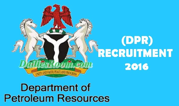 Department of Petroleum Resources Recruitment 2016   online Application and Requirements
