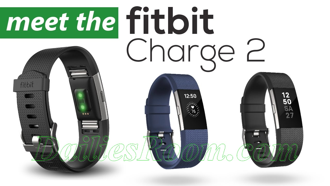 Introducing Fitbit Charge 2 - Heart Rate and Fitness Wristband - Features