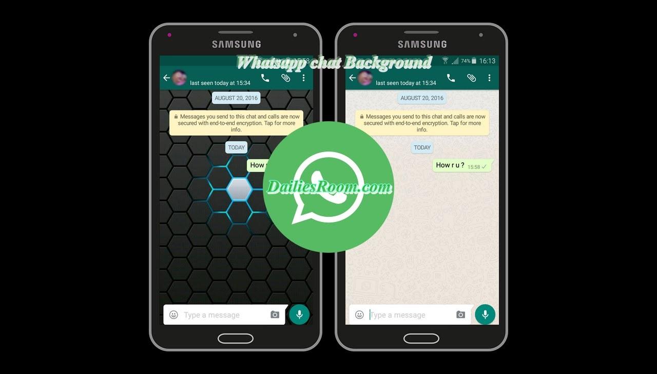 How to Change Whatsapp Chat Background | Customizing Whatsapp background