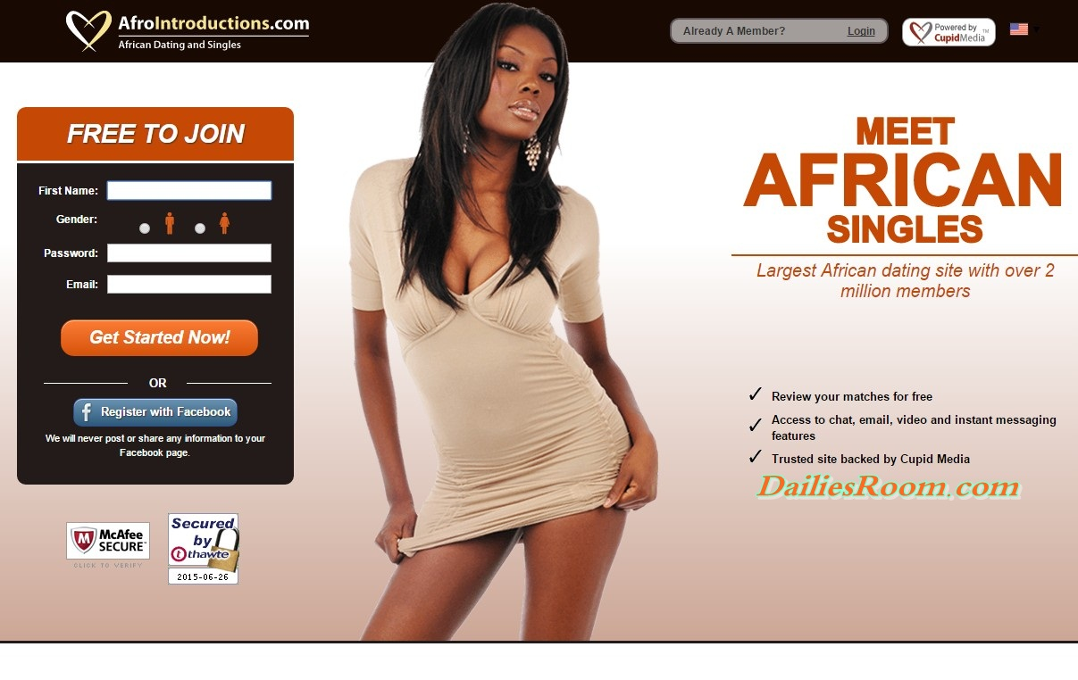 Afrointroduction login in