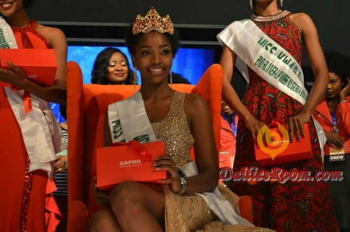Miss Nigeria 2016 - Chioma Stephanie Obiadi (Miss Anambra) Crowned 40th Miss Nigeria
