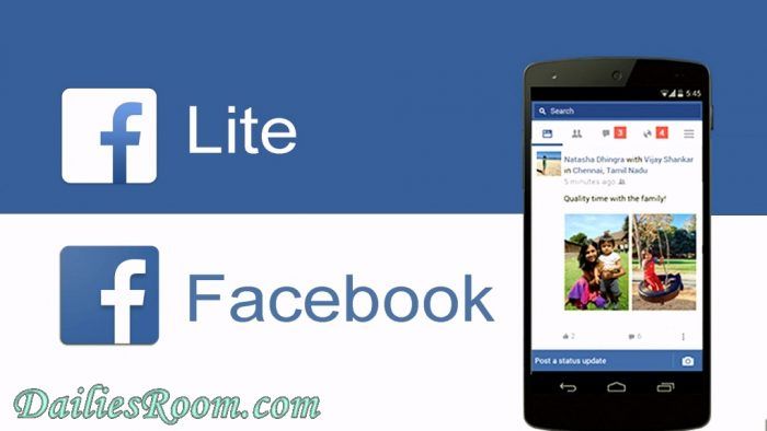 Steps to Download Facebook Lite free For Android Device | Load Facebook Quickly and faster