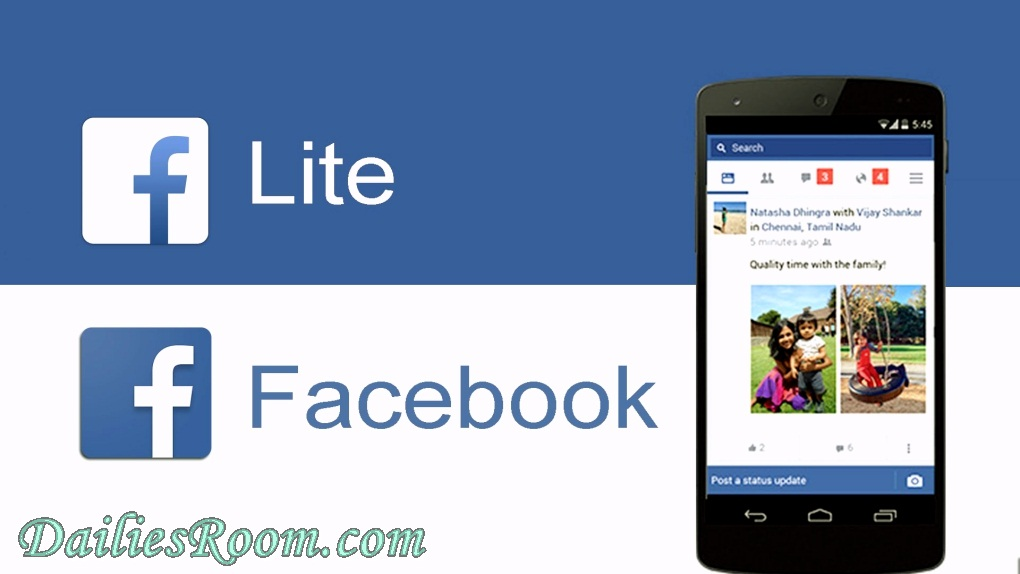 Steps To Download Facebook Lite Free For Android Device