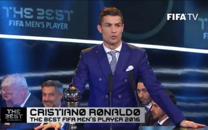 FIFA Best 2016 Award: Winner Of Best FIFA Football Awards 2016 Ronaldo Win Big