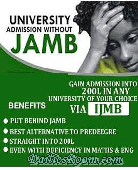 2017/2018 IJMB Registration Form Now open | An alternative to JAMB
