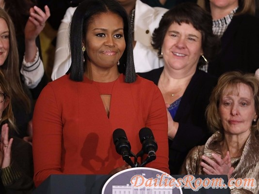 "Michelle Obama Final remarks as first lady : ""Hope i have made you Proud"""