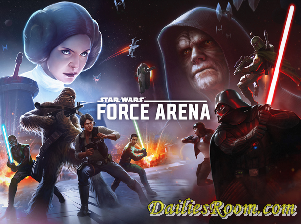 Download And Play Star Wars™: Force Arena game free for android | lead your squad