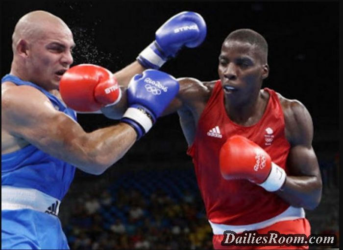 Nigeria-British Boxer; Lawrence Okolie Knocks Opponent Out in 20 Seconds