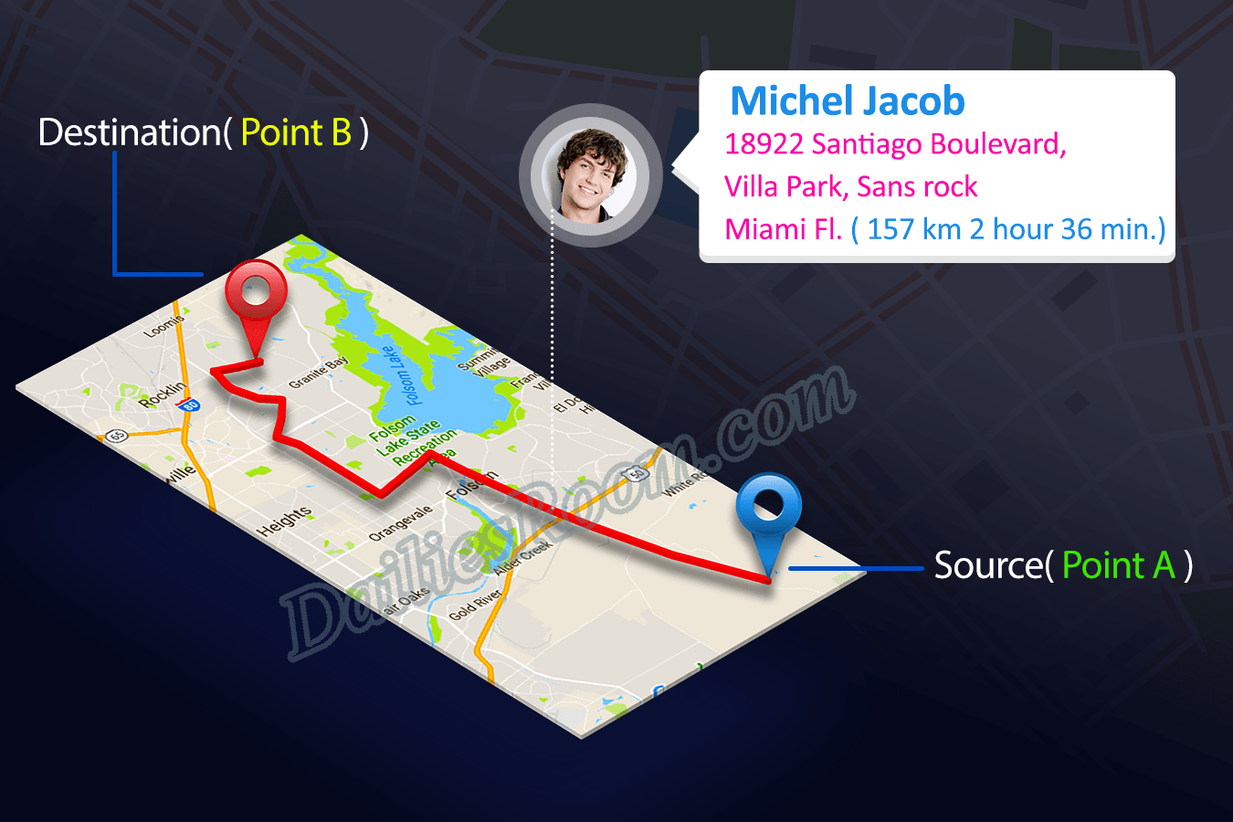 How to share Facebook Live location Via Messenger   Live Location Features