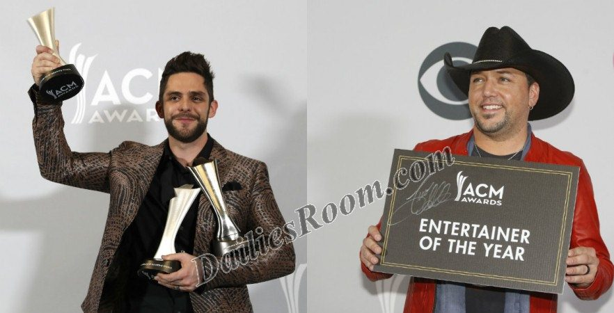 52nd annual ACM Awards 2017 Winners: See Complete List of Winners