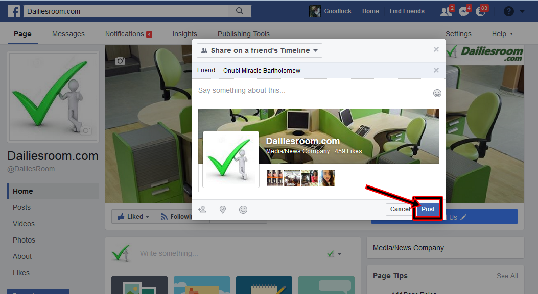 How To Remove Something Posted On A Facebook Timeline & Hide Post