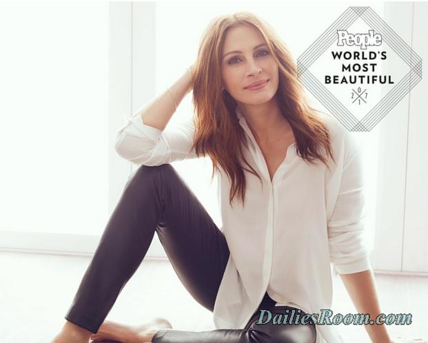 Actress Julia Roberts Named 2017 World's Most Beautiful Woman