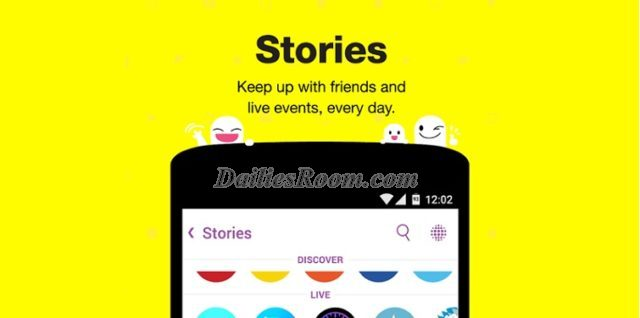 How to search/view Snapchat stories   Snapchat search features