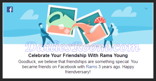 How to Celebrate Your Facebook Friendship with Friends, Family & Love One