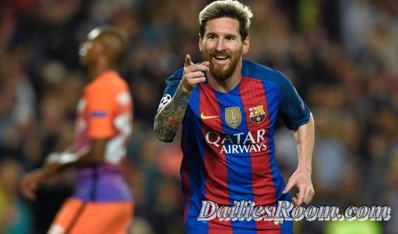 2016/2017 UEFA Champions League Top Goal Scorers; Messi, Ronaldo
