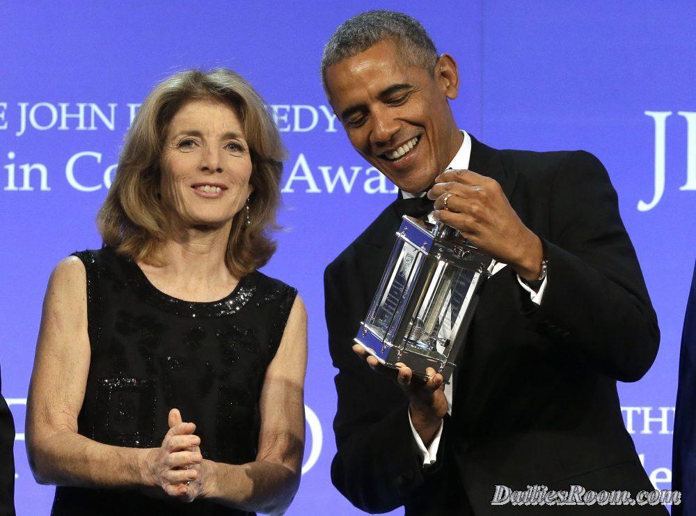 2017 'Profile in Courage Award': Obama Earns JFK Courage Award