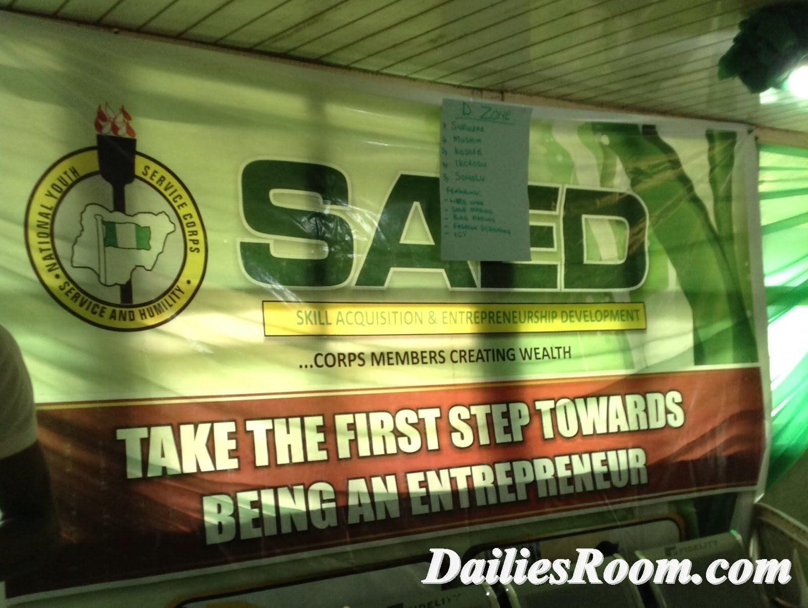 www.saedconnect.com - NYSC SAED Connect Account Free Registration