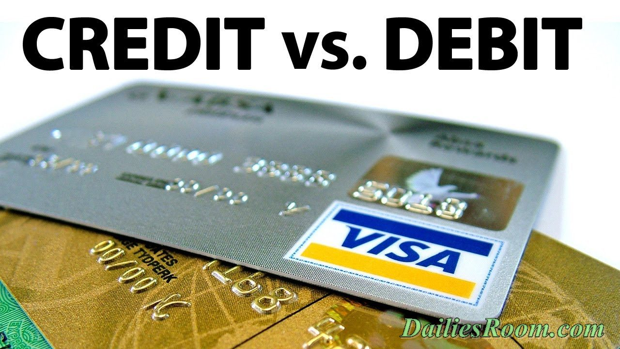 Comparison: Credit Cards VS Debit Cards   Card Similarities, Differences