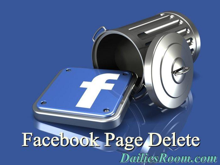 Delete Facebook Account On Mobile / Desktop Permanently