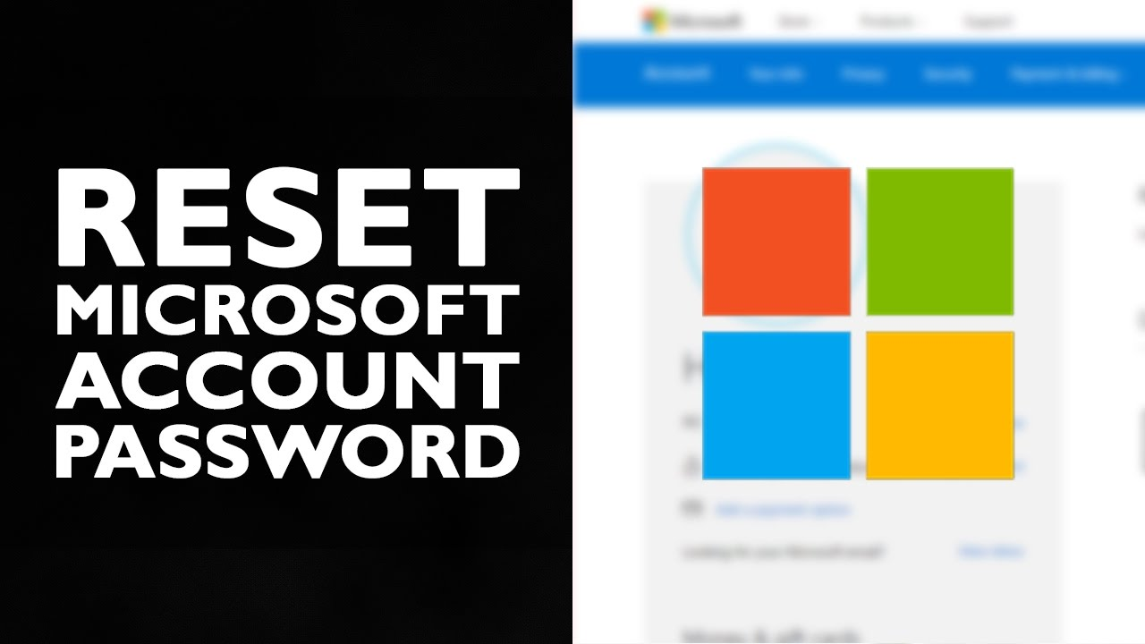 How to Reset Microsoft Account Password | Login Password Reset