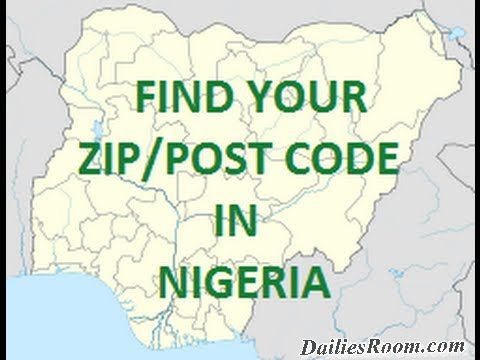 List of Nigeria Postal Codes for Different States | Zipcode/postal codes