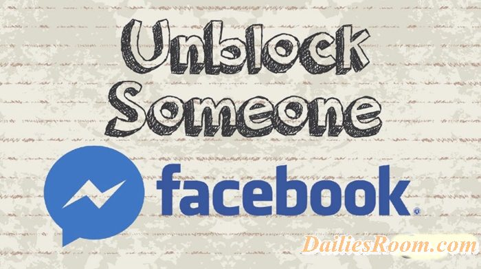 Steps to Unblock already Blocked Facebook Friends On Android device
