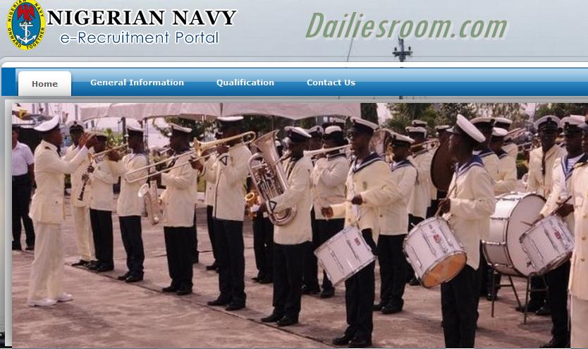 Apply - Nigeria Navy e-Recruitment Portal 2017 Opens; Requirements