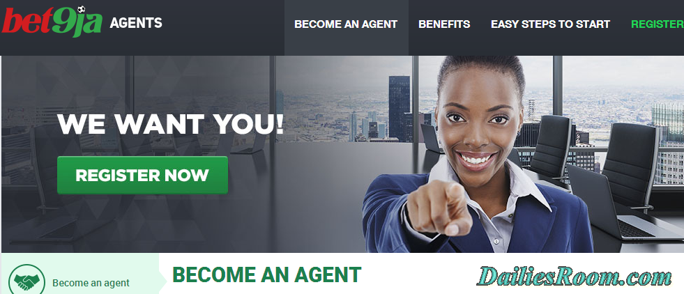 Steps to Become a Bet9ja Agent | Bet9ja Agent Online Registration