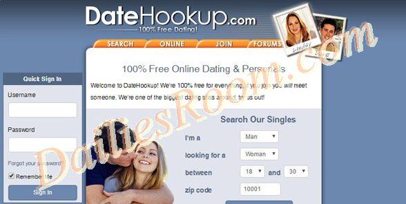 Join www.datehookup.com | Datehookup Account free Registration/Login