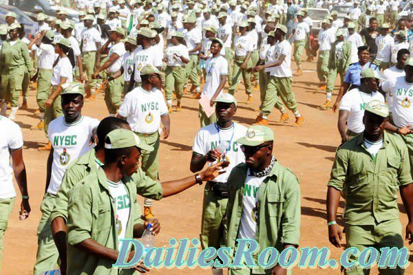 2017 NYSC Batch A Stream II Orientation Course Timetable; July 26th