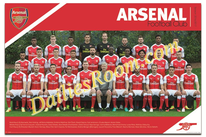 2017/18 Arsenal FC Full Squad   Arsenal FC Players Salary Structure