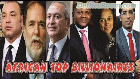 Forbes List of Top 10 African Billionaires 2017; Networth, Source of Wealth