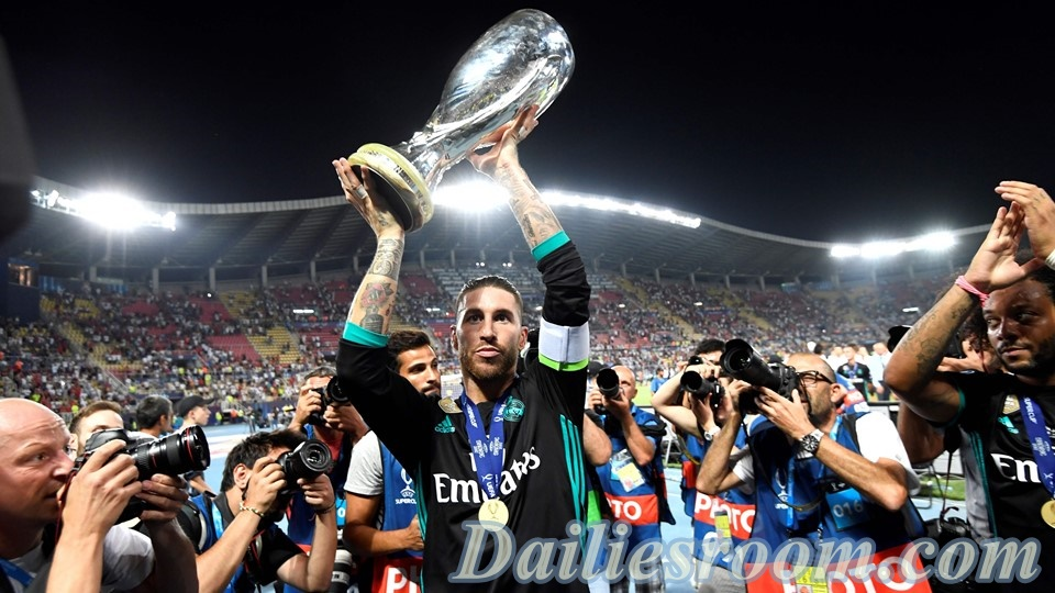 2017 UEFA Super Cup - Real Madrid Wins UEFA Super Cup Title