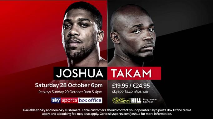 #whowillwin Heavyweight Boxing Between Anthony Joshua v Carlos Takam