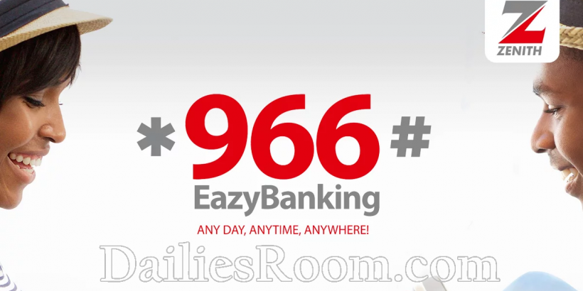 *966# EazyBanking - Zenith Bank Transfer Codes | Account Balance Code