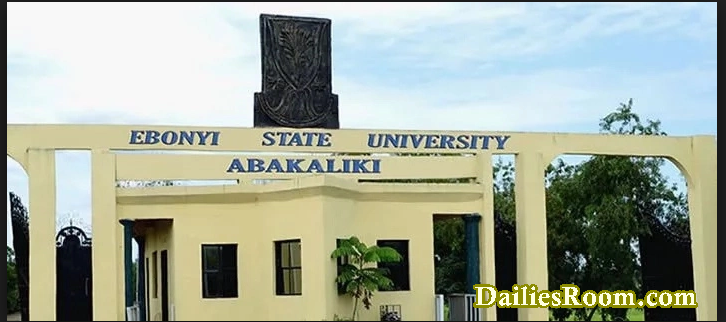 2017/2018 EBSU Verification Process for Newly Admitted Students