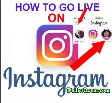 How To Start Instagram Live Stream | Go Live On Instagram App