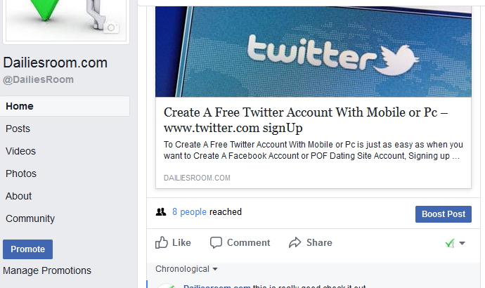 How to Like Or Follow a Page On Facebook.com Account