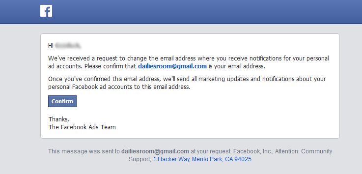 How To Change Facebook Profile Email Address Online Free
