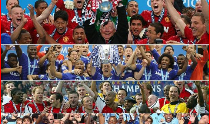 The English Premier League champions List Since 1992 Till Date