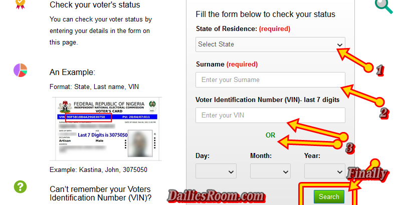 How to Check Permanent Voters Card Registration Online Status