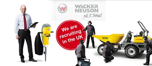 Wacker Neuson UK Current Job Offer 2018 (Regional Sales Manager)